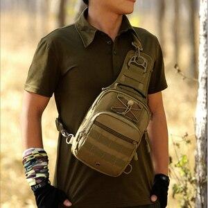 Image 5 - Norbinus 2018 männer Schulter Handtasche Military Brust Tasche Sling Pack Taktische Umhängetaschen für Männer Wasserdichte Nylon Gürtel Taschen