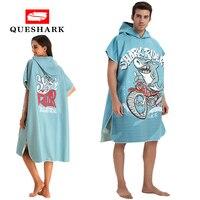 Microfiber Women Man Swimming Diving Bathrobe Cloak Printing Changing Robe Bath Towel Outdoor Hooded Beach Towel Poncho Towels