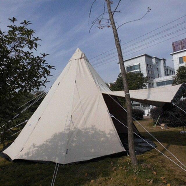 DANCHEL Waterproof 5M teepee tent & DANCHEL Waterproof 5M teepee tent-in Tent Accessories from Sports ...