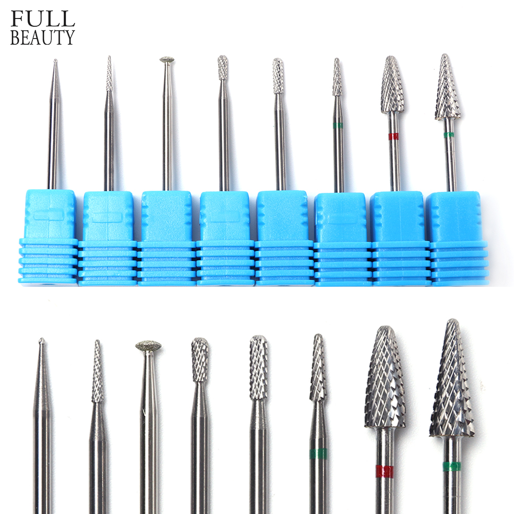Design; Special Section New 10pc Professional Nail Drill Diy Nail Art Grinding Drill Bits Electric Machine Diamond Bullet Bit Manicure Tool 30 Novel In