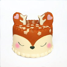 30 style any choose collocation PU Squishy Slow Rising squeeze toy star deer teeth cake ice cream deer cake glasses dear