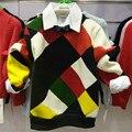 Autumn Winter Children T-shirt Velvet Thick Warm Bottoming Shirt Kid Boys Sweater Casual Cashmere Children Sweater Clothes hx005
