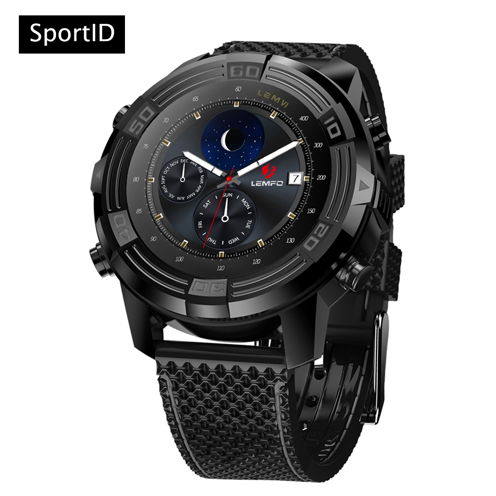 New Smart Watch Android Men 1GB + 16GB GPS Tracker WiFi Hear Rate Monitor Wristwatch LEM6 Waterproof Bluetooth Watches for Phone new lf17 smart watch