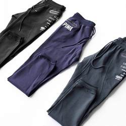 Для мужчин джоггеры бренд мужской мотобрюки брюки, тренировочные брюки в повседневном стиле Jogger черный повседневное эластичный хлопок