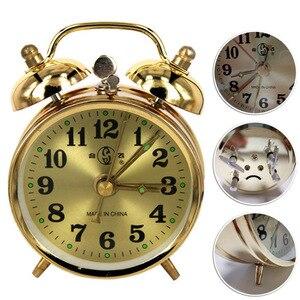 Gold Mechanical Alarm Clock Ma