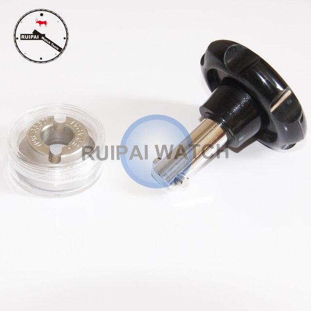 Ouvreur de boîtier de montre étanche professionnel, outils douverture de couverture arrière de montre 36.5mm avec clé manuelle pour horlogers
