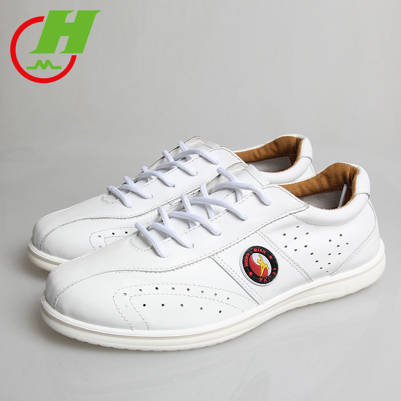 Male Summer Tai Chi Shoe,Genuine Leather Ventilation Martial Art Practice Shoe,Taiji  Morning Exercises Kung Fu ShoesMale Summer Tai Chi Shoe,Genuine Leather Ventilation Martial Art Practice Shoe,Taiji  Morning Exercises Kung Fu Shoes