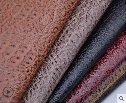 Крокодиловая синтетическая искусственная кожа сделай сам, искусственная мягкая сумка для украшения стен, водонепроницаемая искусственная