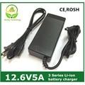 12.6V5A / 12.6 V 5A inteligência de iões de lítio carregador de bateria para 3 séries 12 V de lítio ion polímero bateria de boa qualidade