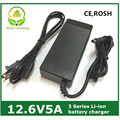12.6V5A/12.6V 5A intelligence  lithium-ion battery charger  for  3Series 12V  lithium-ion polymer battery  pack good quality