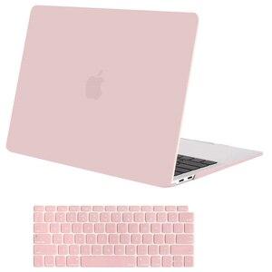 Image 3 - MOSISO новейший матовый чехол для ноутбука для Apple MacBook Air Pro retina 11 12 13 для mac book Pro 13,3 чехол cove + крышка клавиатуры