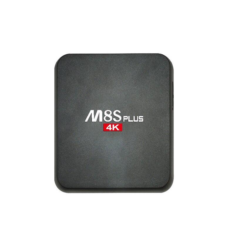 M8S PLUS 4K Smart Android 5.1.1 TV Box Amlogic S905 Quad-core 64Bits KODI XBMC H.265 2G /8G Dual Wi-Fi 1000M LAN HD Media Player m8 fully loaded xbmc amlogic s802 android tv box quad core 2g 8g mali450 4k 2 4g 5g dual wifi pre installed apk add ons