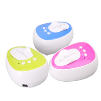 Portable Mini Ultrasonic Contact Lens Cleaner Kit Daily Care Faster Cleaning for Contact Lens