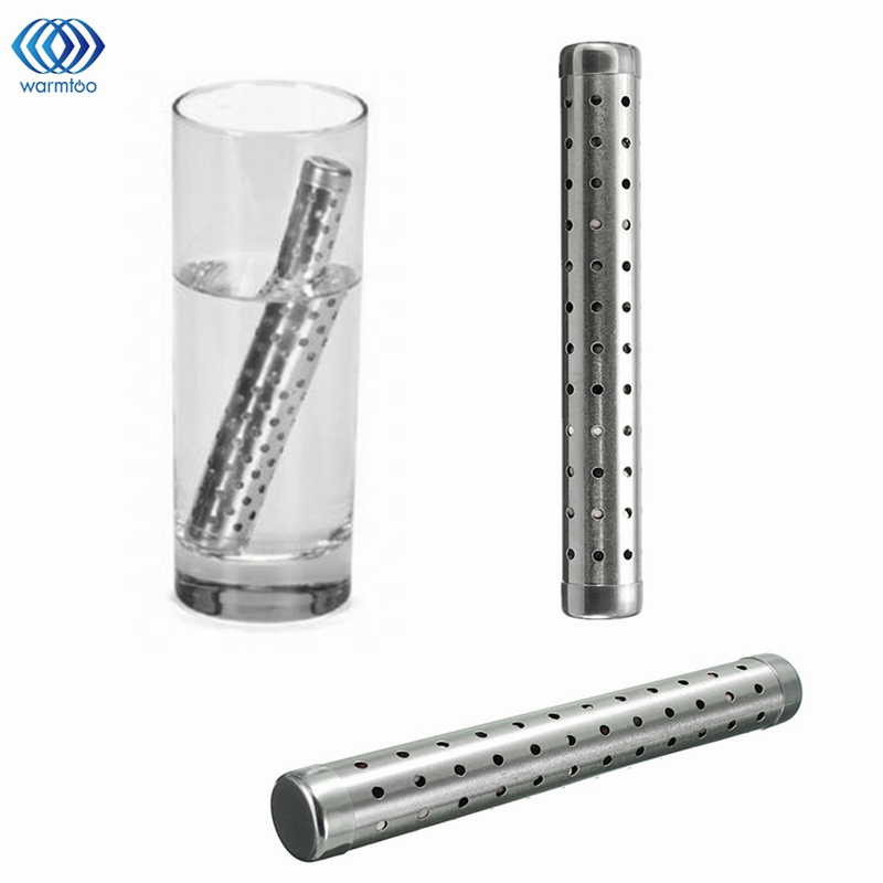 где купить Alkaline Water Stick Hydrogen Negative ION Ionizer PH Minerals Wand Water Purifier Filter Treatment Portable Health Travel Size по лучшей цене