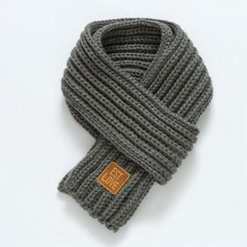 Est. with Love Kids Scarf – Grey