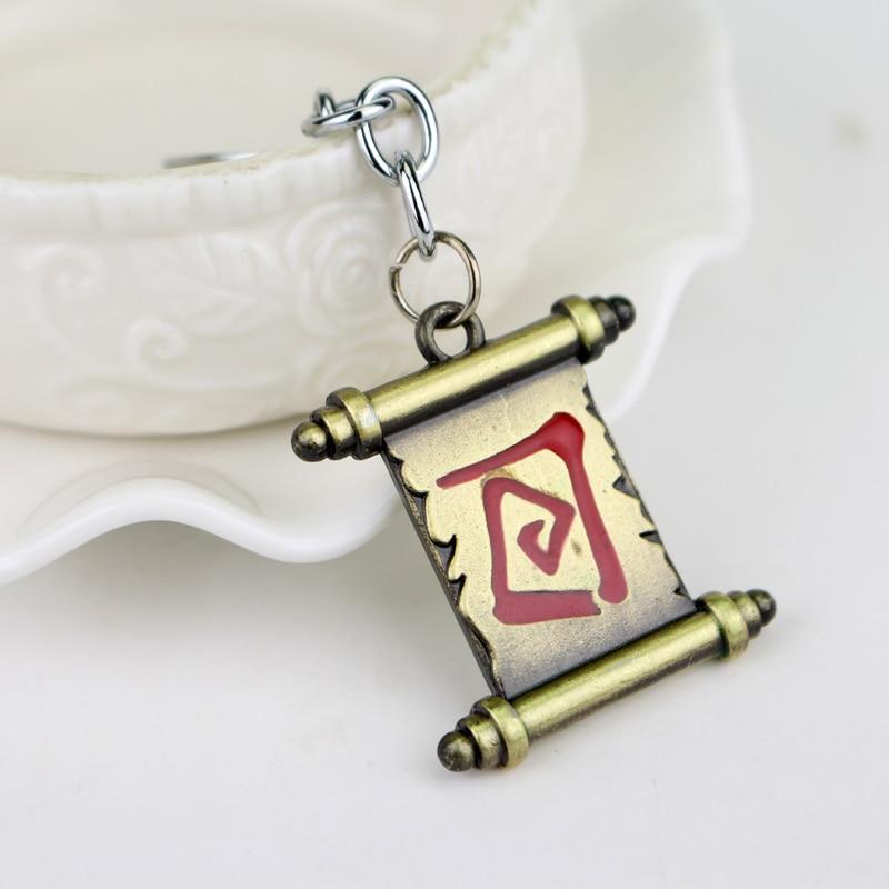 Online Game Dota 2 Metal Key Chain Key Ring Brand New Bronze