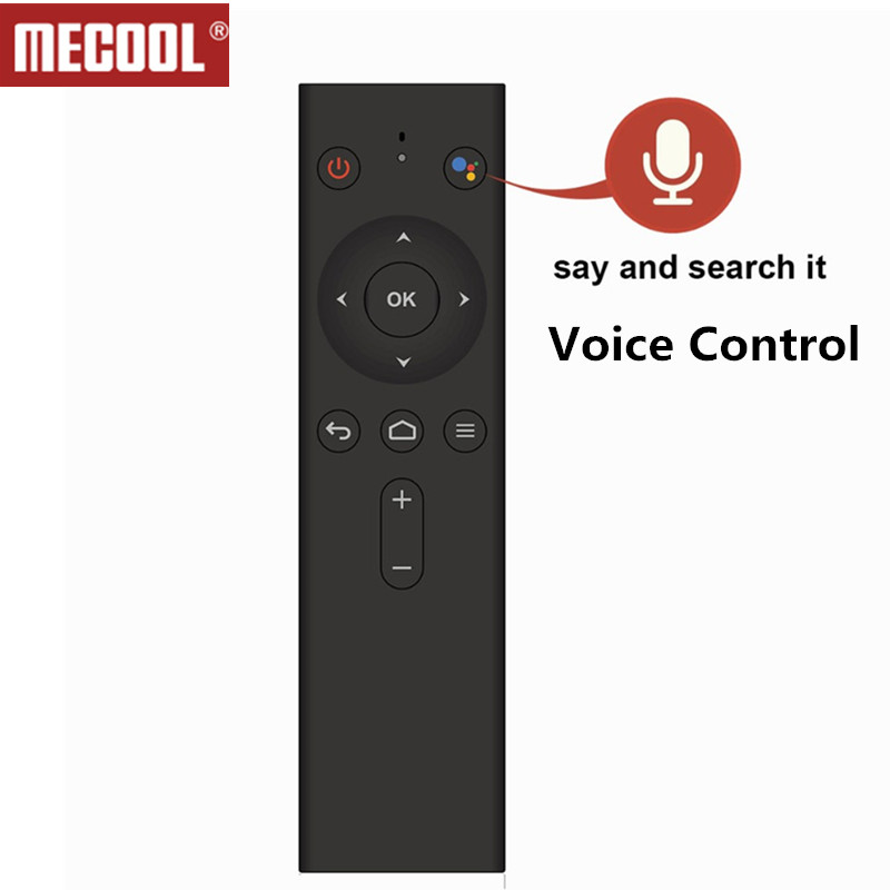 Bluetooth Voice Remote Control Replacement For Mecool Android TV Box Mecool M8S PRO L and M8S PRO TV Box Accessories