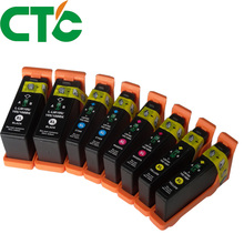 8 PCS Ink Cartridge 100 100XL LM100 105XL 108XL Compatible for Lexmark S305 S308 S405 S408 S505 S508 S605 S608