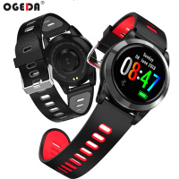 OGEDA R15 Smart Watch Heart Rate Blood Pressure Health Monitoring IP67 Waterproof weather monitoring LED color screen Smartwatch