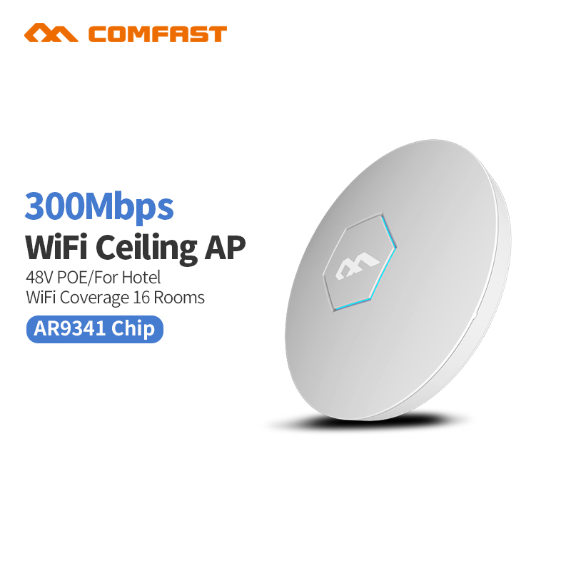 все цены на 300Mbps Wireless Access Point Ceiling AP WIFI Router WIFI Repeater WIFI Extender 6dBi Antenna indoor DDWRT OPENWRT bridge онлайн