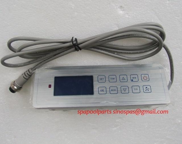 Contrôleur de baignoire chaude   Modèle 7005/GD7005/GD, ensemble complet, panneau daffichage du clavier et boîte de commande