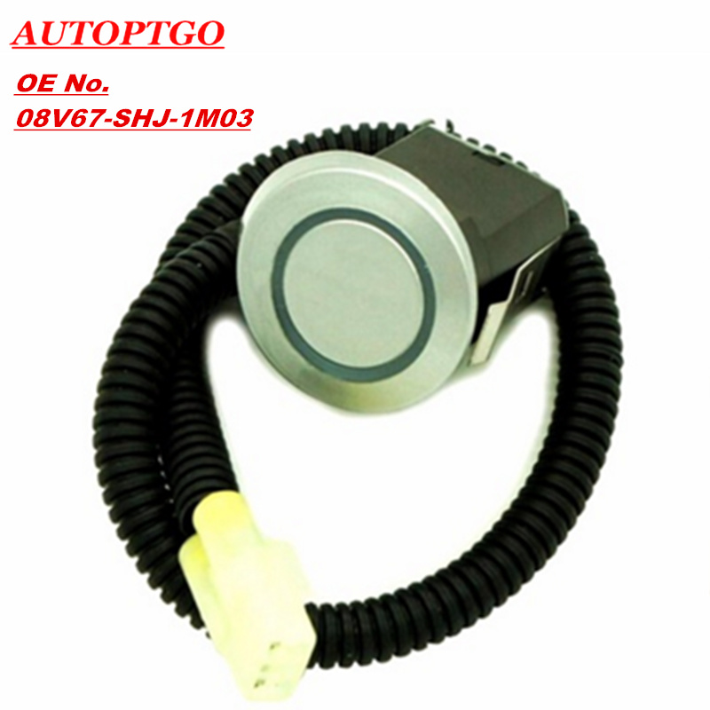 Autoptgo 08V67 SHJ 1M03 Bumpers Parksensor PDC Parking Assist Sensor For Honda Electronicx 08V67SHJ1M03 in Bumpers from Automobiles Motorcycles