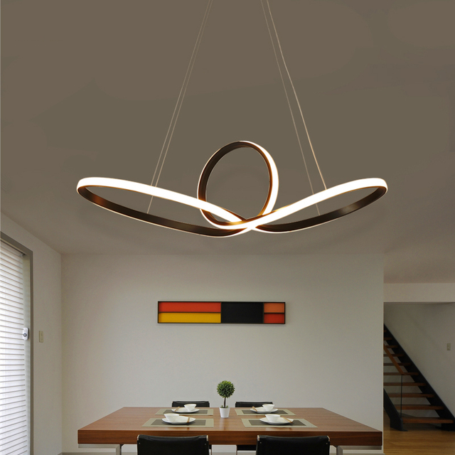 Modern Led Pendant Lights For Dining Living Room Kitchen Room - Hanging pendulum lights