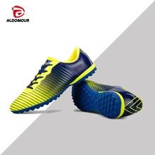 ALDOMOUR Hoge enkel Heren Voetbalschoenen Spikes Training Voetbalschoenen Slijtvaste voetbalschoenen Hoge voetbalschoenen