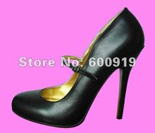 Free shipping 14CM Heel Height Sexy Genuine Leather Pointed Toe Stiletto Heel Pumps Party Shoes heels US size 5-14.5 No.Y1405