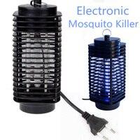 전자 모기 트랩 나방 플라이 말벌 Led 밤 램프 버그 곤충 빛 블랙 죽이는 해충 신랄한 EU 미국 플러