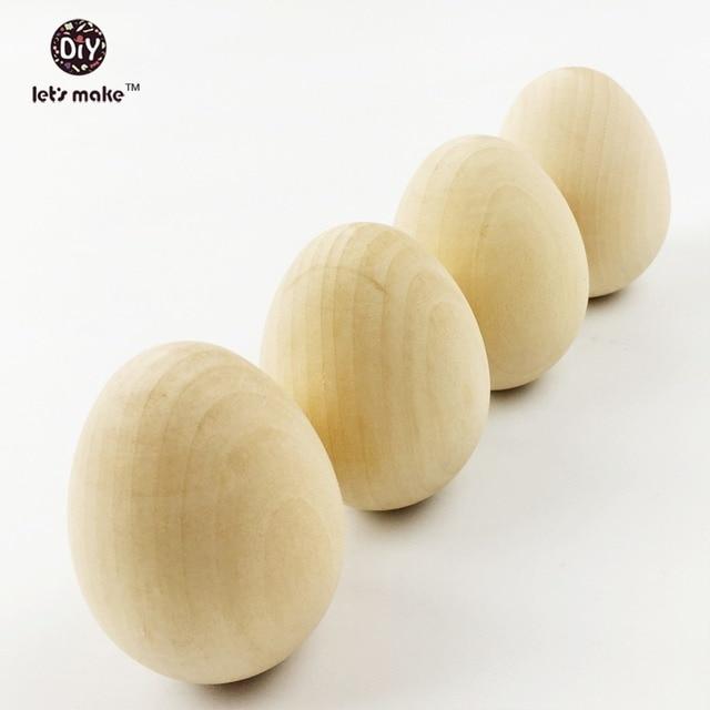 Let's make DIY Unfinished  Wooden hen egg  lifesize egg, life size egg, wood egg, unfinished diy set of 20