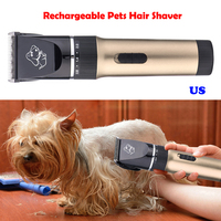 Professional Pet Cat Dog Hair Trimmer 2000mAh High power Electric Scissors Animals Grooming Clippers Dog Hair Trimmer Cutters