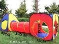 Niños Niños Pop-Up Tienda del Juego de Aventura portátil Casa Túnel Juego de Jardín Al Aire Libre de Interior Casa de Juegos Piscina de bolas Carpa Océano Piscina De Bolas