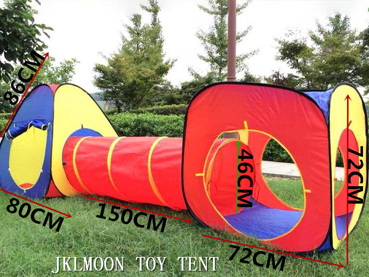 Portable Children Kids Pop Up Adventure Play Tent House Tunnel Set Indoor Outdoor Garden Playhouse Ocean Ball Pit Pool Tent patriot gp 7210ae