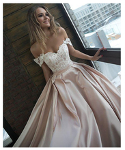 Champagne Formal Evening Dress 2019 SoDigne Off The Shoulder Lace Top Evening Party Gowns Applique Backless Sexy Prom Dress