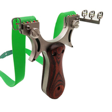 Slingshot Spring Pressed Flat Leather Optical Precision Stainless Steel Wire Cutting Outdoor Sports Toy
