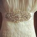 Blanco Correa de Diseñadores de Lujo de la Flor Femenina Vestido Floral de Las Mujeres Cinturones Waistband Faja Diadema de Diamantes de Alta Calidad para La Boda