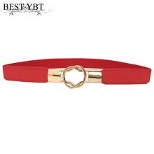 Najlepszy YBT moda pasek damski elastyczny pas butelka klamra małe paski czerwony cienki kobieta sukienka pasek elastyczna elastyczność pas tanie tanio bestybt Płótno Kobiety Dla dorosłych Pasy 2 4cm Na co dzień LKCZK0116 Stałe 6 5cm 3 5cm 20170907 Red Black Camel White
