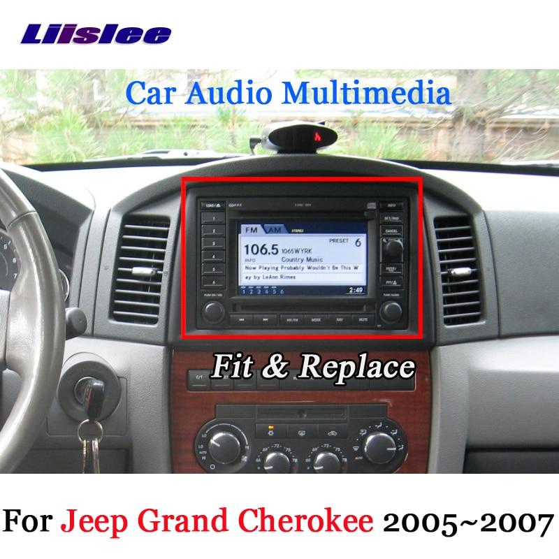 Liislee for JEEP Grand Cherokee 2005 ~ 2007 Android GPS Navigation - الكترونيات السيارات