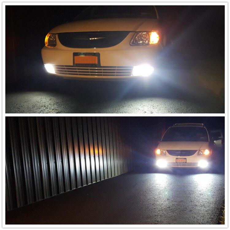 Truck Driving Daytime Running Luz H7 LEVOU lâmpadas 12V 24V para Carros