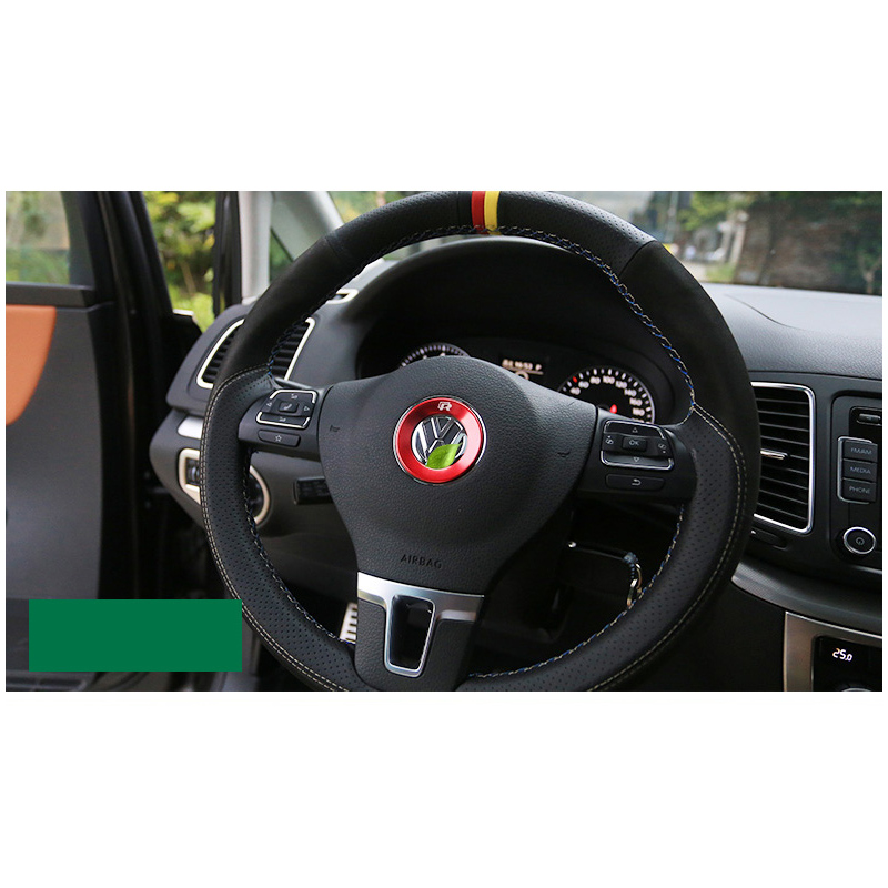 lsrtw2017 car styling car steering wheel ring for volkswagen vw sharan 2011 2012 2013 2014 2015 2016 2017 2018 in Interior Mouldings from Automobiles Motorcycles