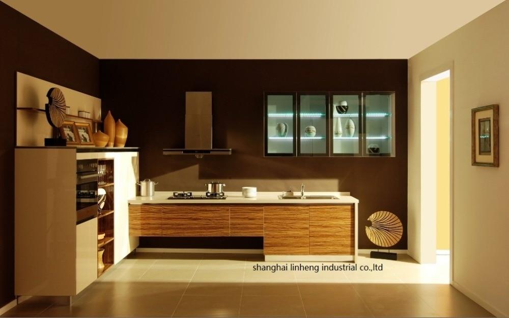 Acrylic Kitchen cabinet(LH-HA004)