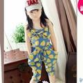Crianças meninas do bebê coração padrão one piece jumpsuit harem pants playsuits 2-7 anos