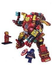 1001 Hulkbuster Smash-U Building Blocks Compatible LegoINGly Iron Man Falcon Hulk Buster 76104 Marvel Avengers Endgame Toy