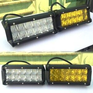"Image 2 - 4"" 7"" 9"" 12"" 15"" 17 Inch 5D Offroad Led Light Bar For 4x4 4WD Trucks UAZ ATV Boat Spot Flood Beams 12V 24V Suv Focos Work Light"