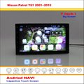 Car Android GPS NAVI Navigation System For Nissan Patrol Y61 2001~2010 - Radio Audio Stereo Multimedia Video ( No DVD Player )