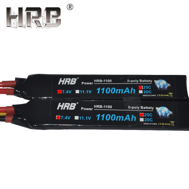 Image 4 - HRB Water Gun Lipo Battery 3S 2S 7.4V 11.1V 1100mAh 25C Tamiya Connector AKKU Mini Airsoft BB Air Pistol Electric Toys RC Parts-in Parts & Accessories from Toys & Hobbies