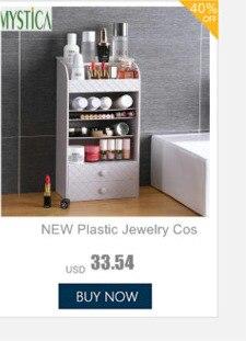 plástico casa desktop gaveta espelho cômoda caixas