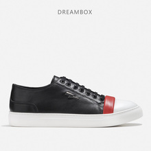 Summer Korean Version Of The Trend Of Leather Breathable Student Shoes Flat Low To Help Wild Men's Casual Shoes стоимость