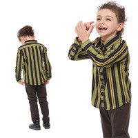 Nova 2015 Novely Design Boys Clothes100 Cotton Lovely Cartoon Character Patten Printed With Striped Longsleeves Boys
